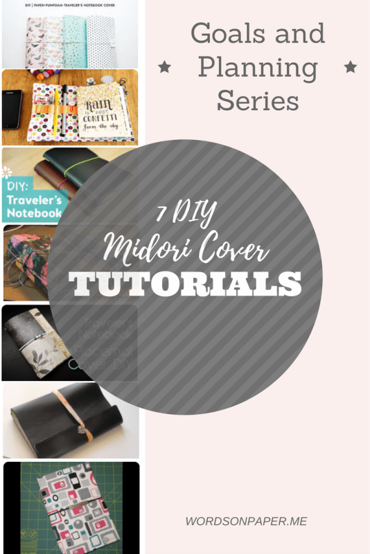 7 DIY Midori and Faux Dori Cover Tutorials (also known as Traveler's Notebooks) tutorial. Including sew, no-sew, cheap, fun, and everything in-between.
