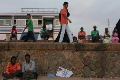 Passers by - Colombo, Sri Lanka