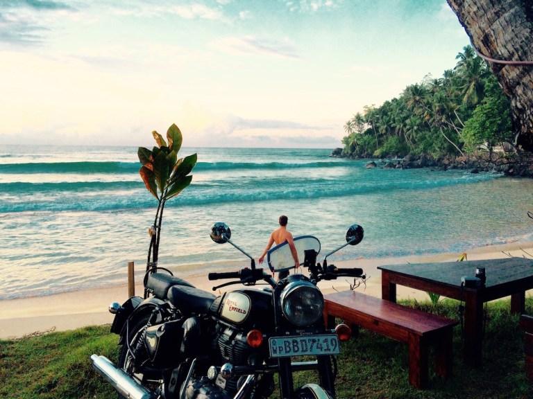 surf et moto