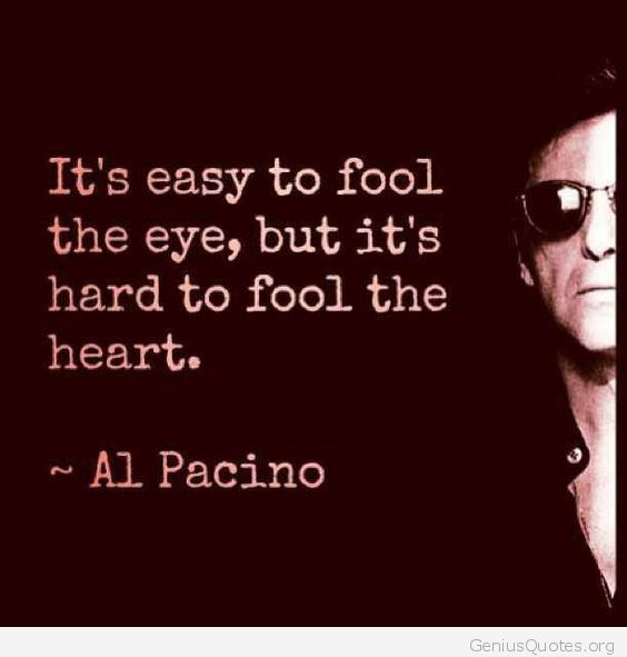 It's hard to fool the heart