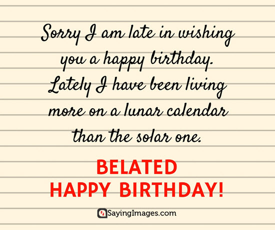 late-birthday-card
