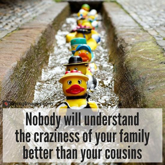 cousin quote