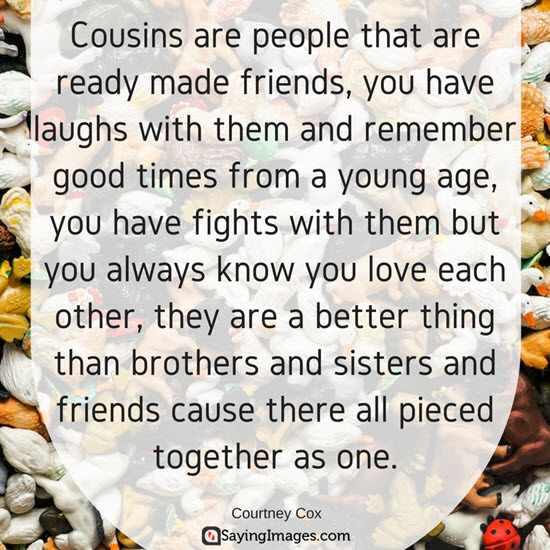 quotes to my cousin