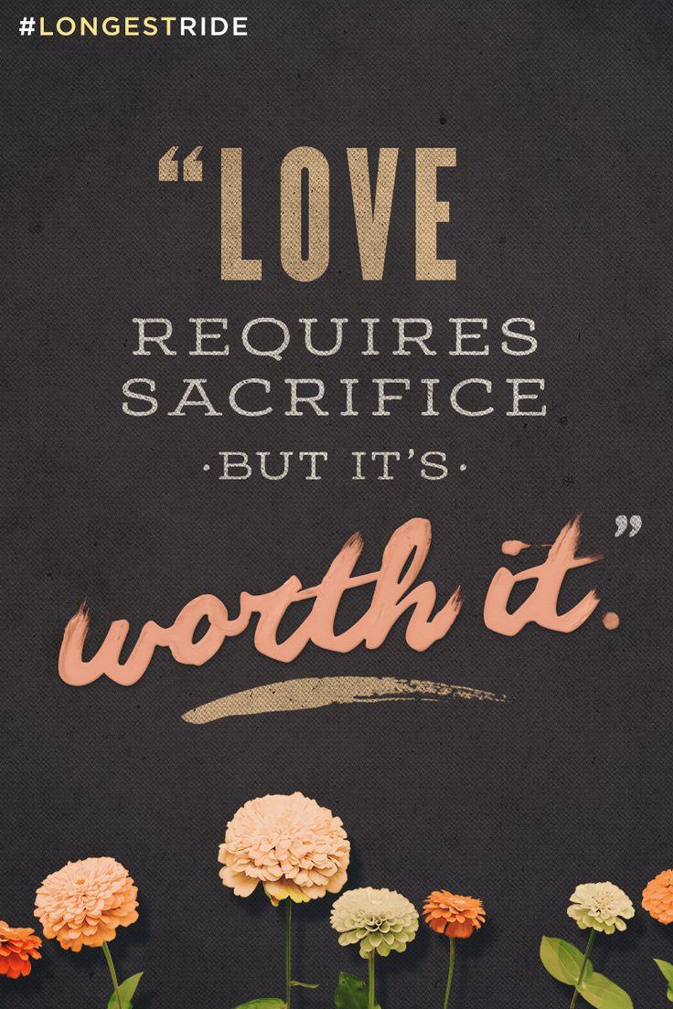 Life Sacrifice Quotes Love Requires Sacrifice  Word Quotes Love Quotes Life