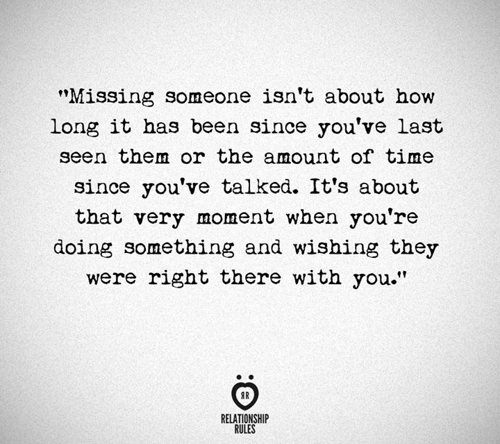 A word for missing someone