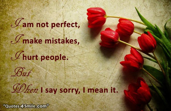 Sorry Quotes 100 Best Apology Quotes To Say Sorry Word Porn