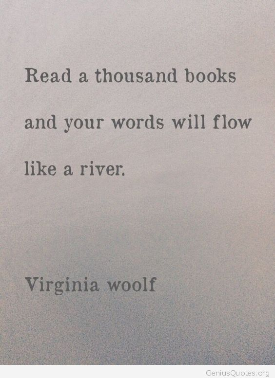 Your words will flow