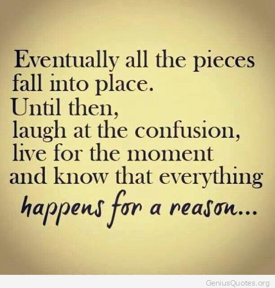 Everything Happens For A Reason Word Porn Quotes Love Quotes