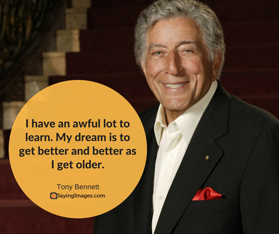 quote from tony bennett