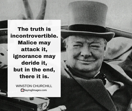 winston churchill history quote