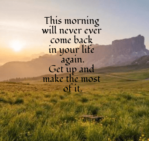 Godly Good Morning Quotes