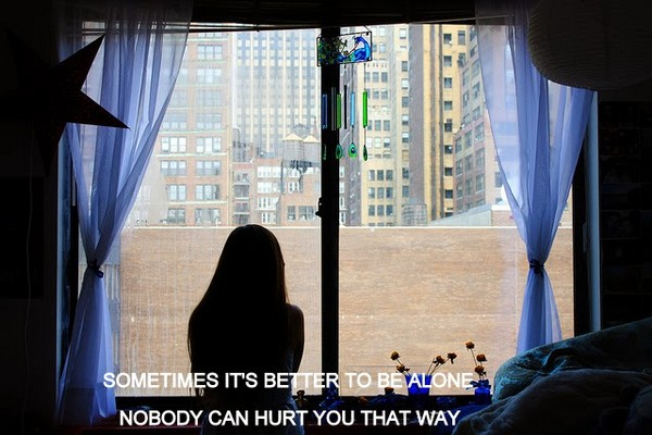 Sad All Alone Quotes