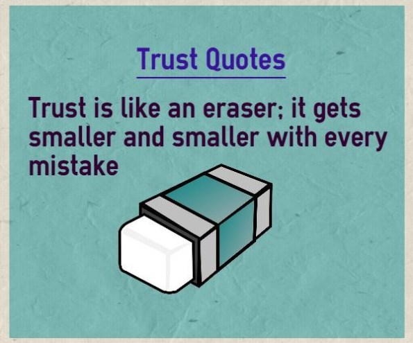 41 Best Quotes About Trust Issues With Images Word Porn Quotes