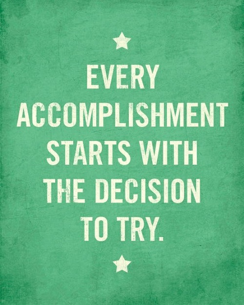 Every Accomplishment Lovely Quotes