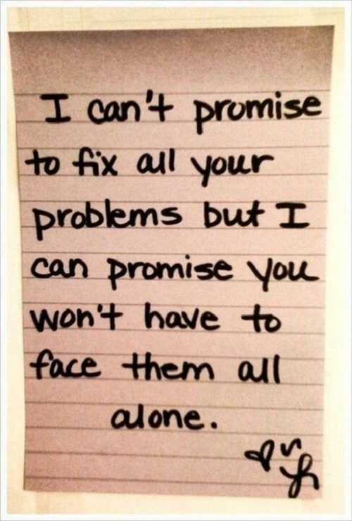 Wont Face Then Alone Amazing Quotes