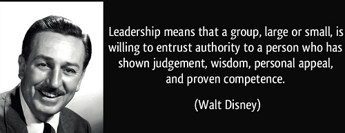 Proven Competence Walt Disney Quotes