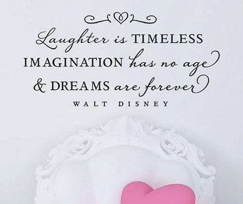 Imagination and Dreams Walt Disney Quotes