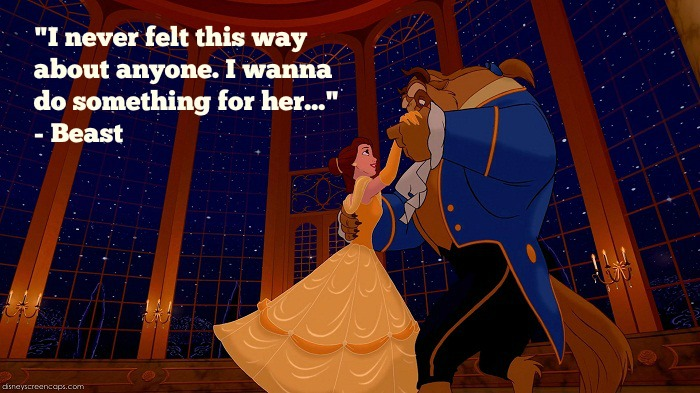 17 Disney Beauty And The Beast Quotes With Images Word Porn Quotes