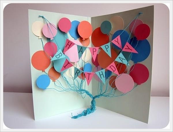 Birthday Homemade Card Ideas