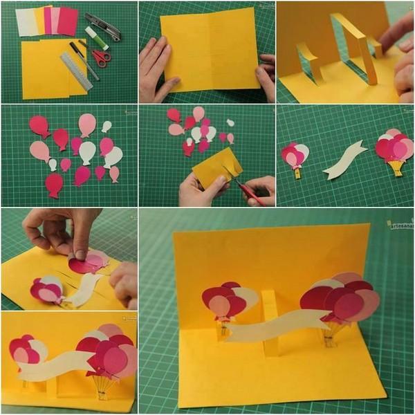 Birthday Card Ideas With Steps
