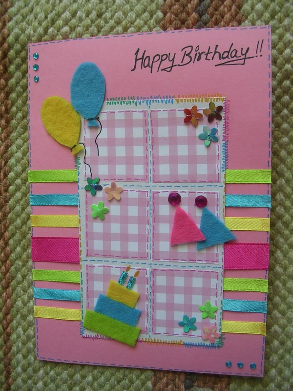 37 Homemade Birthday Card Ideas and Images Word Porn Quotes – Creative Ideas for Homemade Birthday Cards