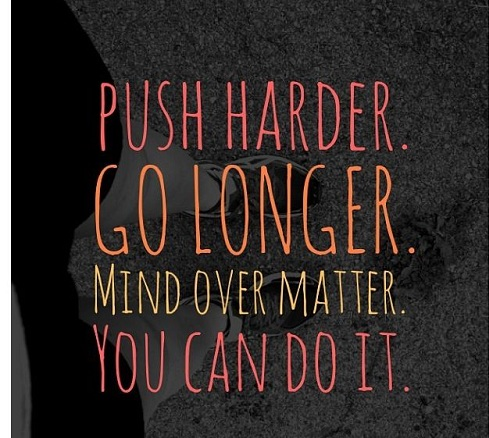 Push Harder Gym Quotes