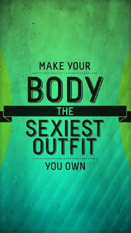 Sexiest Outfit Gym Quotes