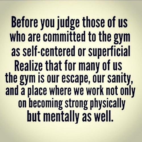 Judge Gym Quotes