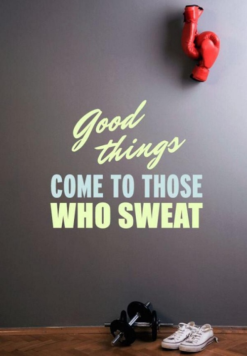 Good Things Gym Quotes