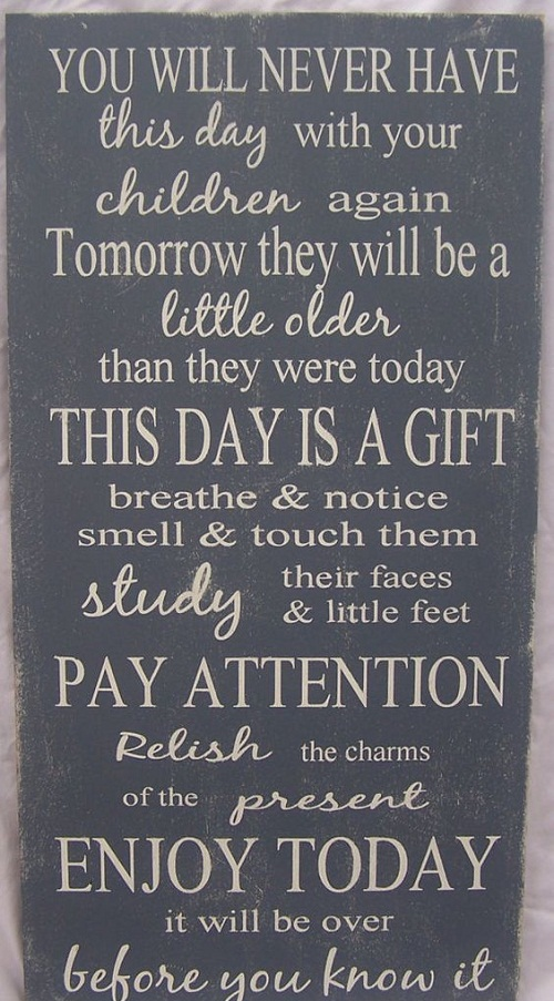 Pay Attention Mother Quotes