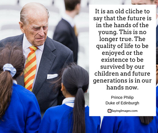 duke of edinburgh quotes