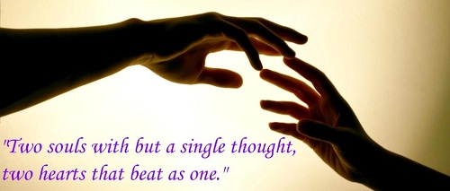 Two Souls Love Quotes for Husband