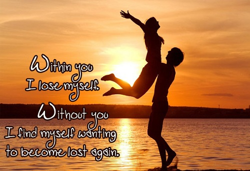 Lose Myself Love Quotes for Husband