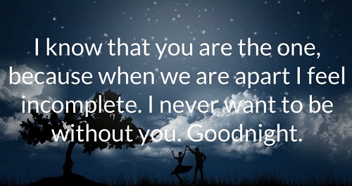 Feel Incomplete Love Quotes for Her