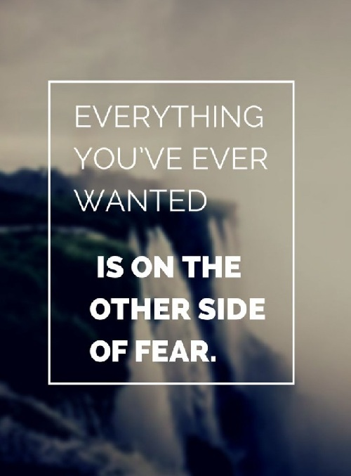 Other Side of Fear Lovely Quotes