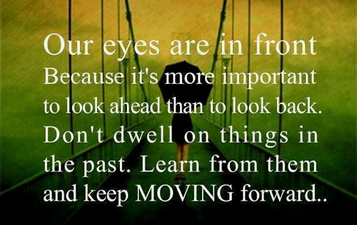 Moving Forward Lovely Quotes