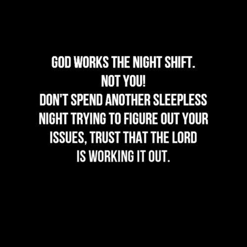 godly goodnight sayings