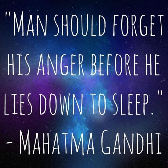 gandhi goodnight quotes