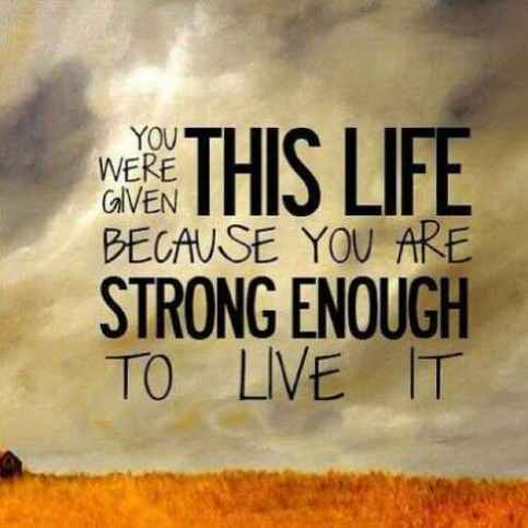 60 Short And Inspirational Quotes About Strength With Images Word Adorable Quotes On Strength