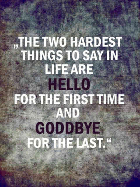 I miss you but goodbye quotes