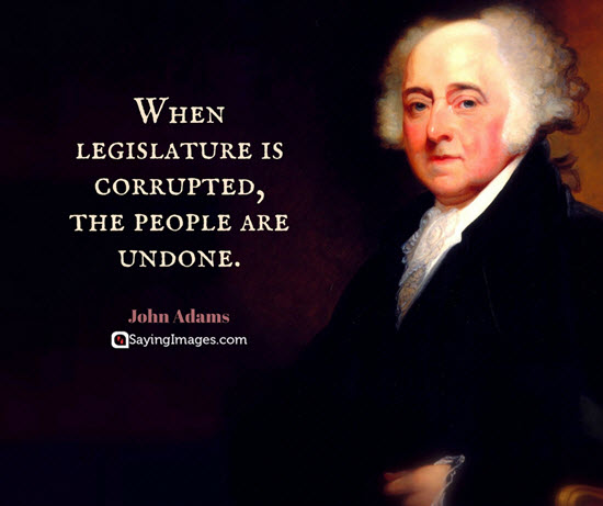 john adams quotes corruption