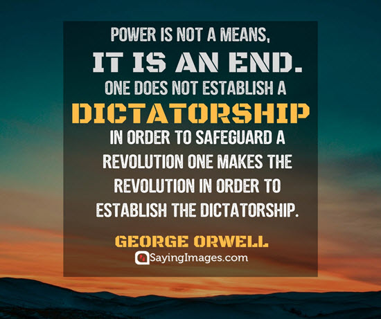 george orwell revolution quotes