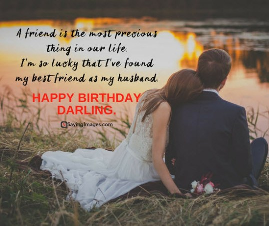 Birthday Message For Husband