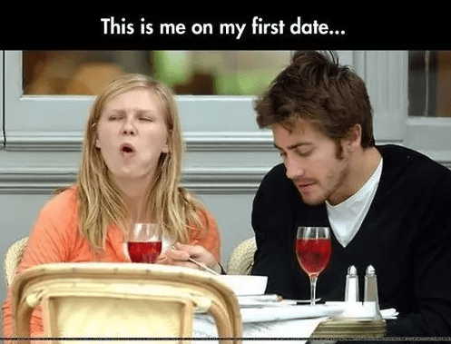 First date email