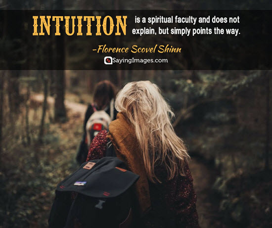 meaning of intuition quotes