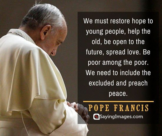 pope francis hope quotes