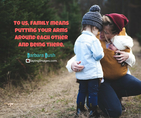 barbara bush family quote