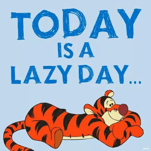 Sunday Quotes Lazy Day