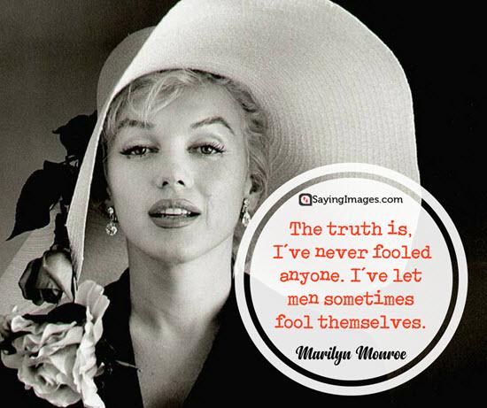 marilyn monroe fool quotes