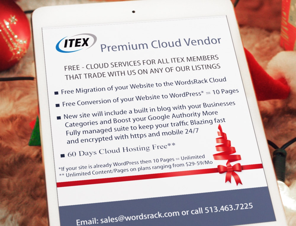 ITEX Premium Cloud Vendor
